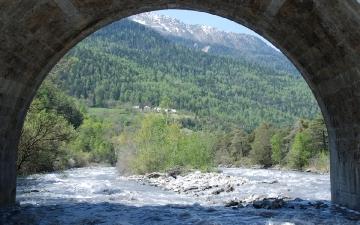 Sous le pont du martinet