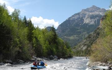 Sur la rivière