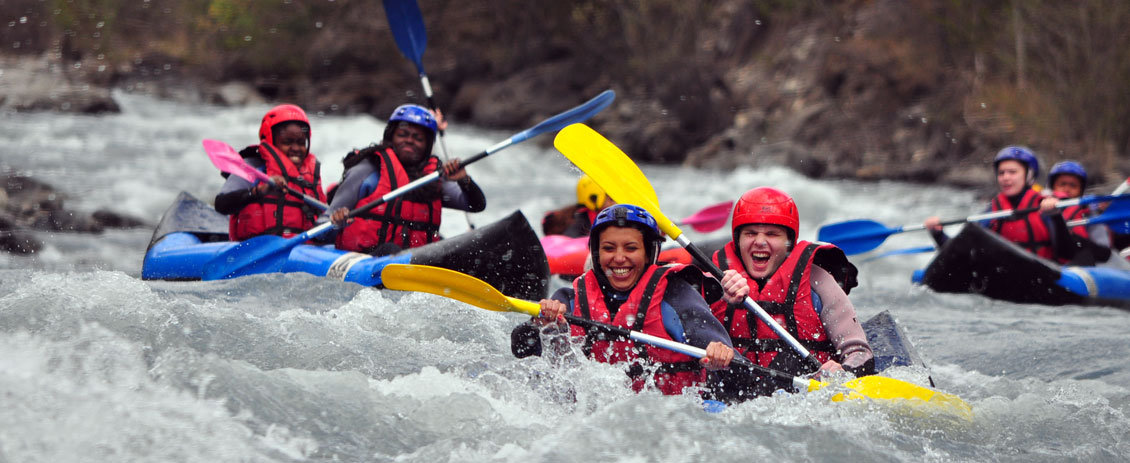 Courses dedicated to whitewater sports